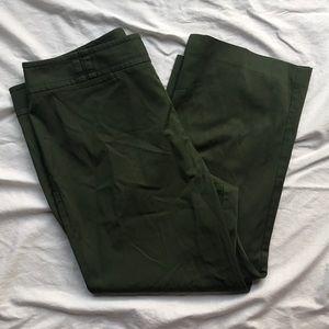 LOFT Kick-flare Capri Pants